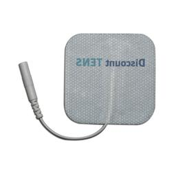 8 Premium Quality Wired 2x2 Replacement Electrodes for TENS