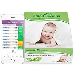 Easy@Home Ovulation Test Kit Powered by Premom Ovulation Pre