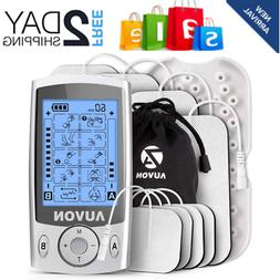Dual Channel TENS Unit Muscle Stimulator Machine with 20 Mod