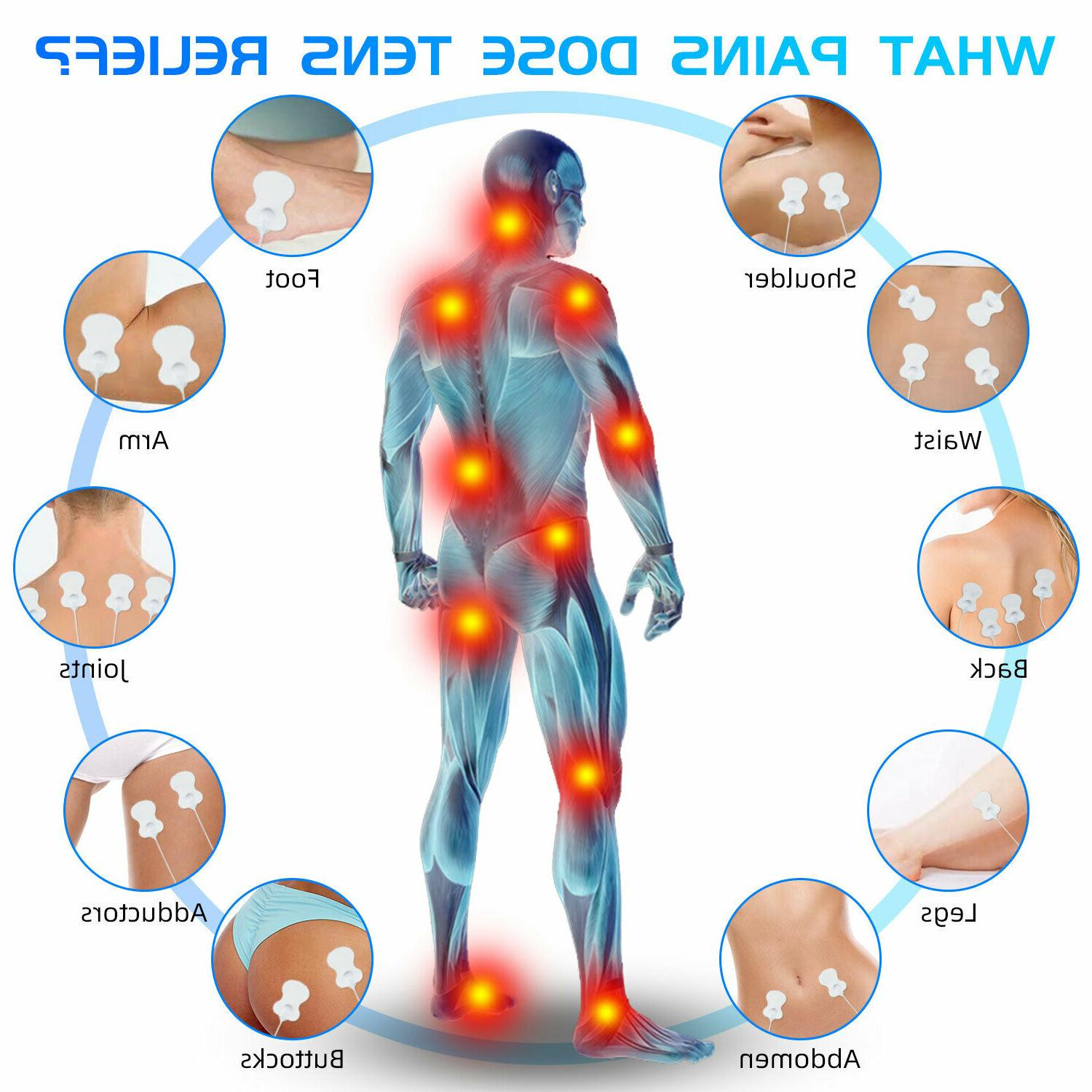Electrical Muscle Therapy Pain Relief Tens Unit Tens Massager