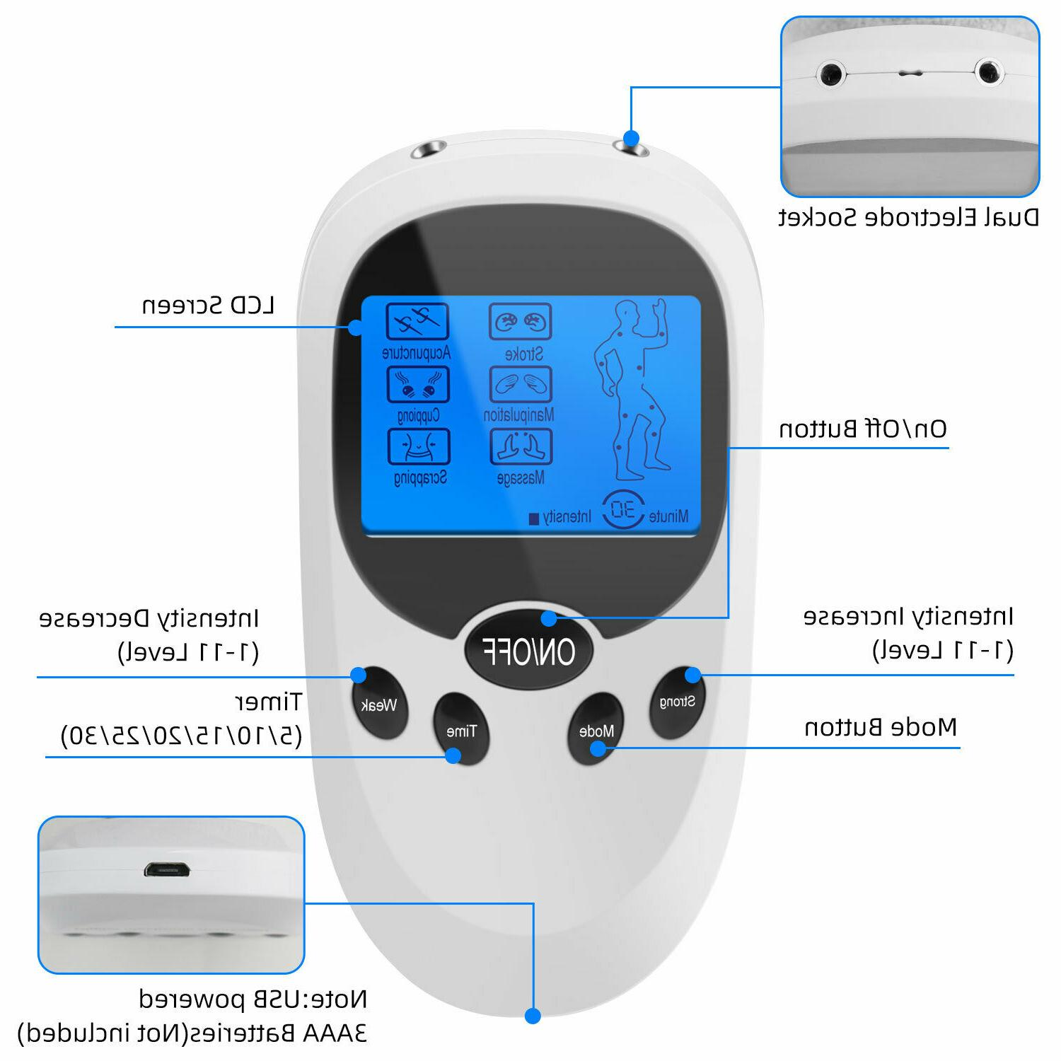 Electrical Stimulation Relax Therapy Pain Unit Massager
