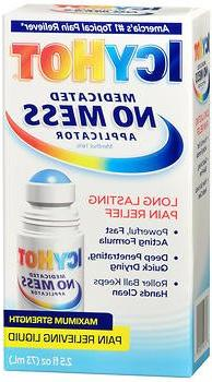 Icy Hot Medicated No Mess Applicator Max-Strength 2.5 Ounce