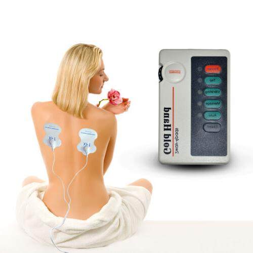 pain relieve low frequency therapeutic electrode pulse