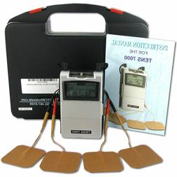 TENS 7000 Digital Back Pain Relief System Unit For Muscle &