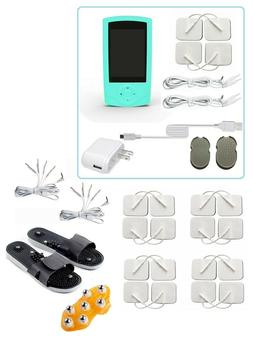 TENS Unit Tens Massager Digital Therapy Acupuncture Pads Mac