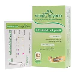 Easy@Home Urinary Tract Infection Test Strips  , 10 individu