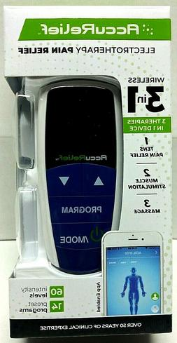 AccuRelief Wireless Tens Unit and EMS Muscle Stimulator - In